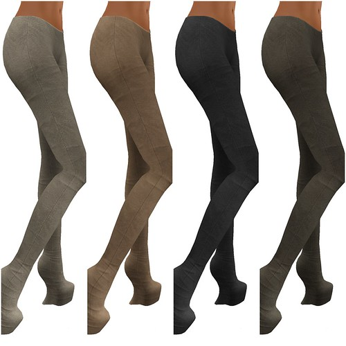 Leggings Suede 1