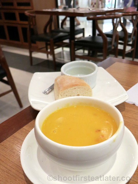 soup of the day HK$28