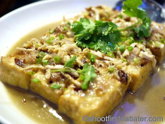 pan fried stuffed tofu P340-001
