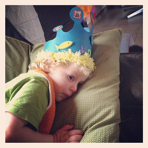 177/366: de vakantie jarige mocht vandaag vieren in de klas