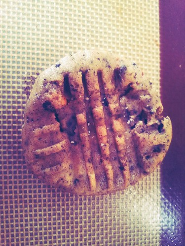 Peanut Butter Cookies and Cream Cookie