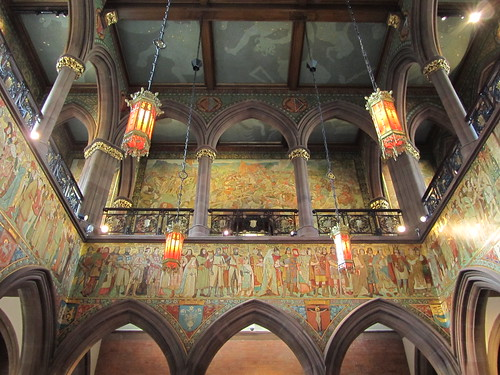 Great Hall Scottish National Portrait Gallery by Jules on Flickr