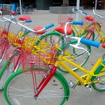 Google Bikes Arrive on Campus: a Fleet