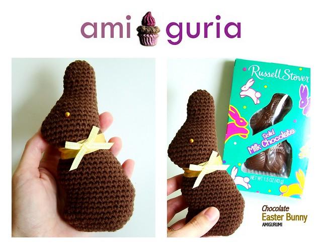 Chocolate Easter Bunny Amigurumi