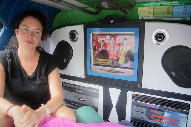 karaoke truck!?