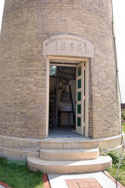 Kenosha Light Station, Simmons Island, Kenosha Wisconsin