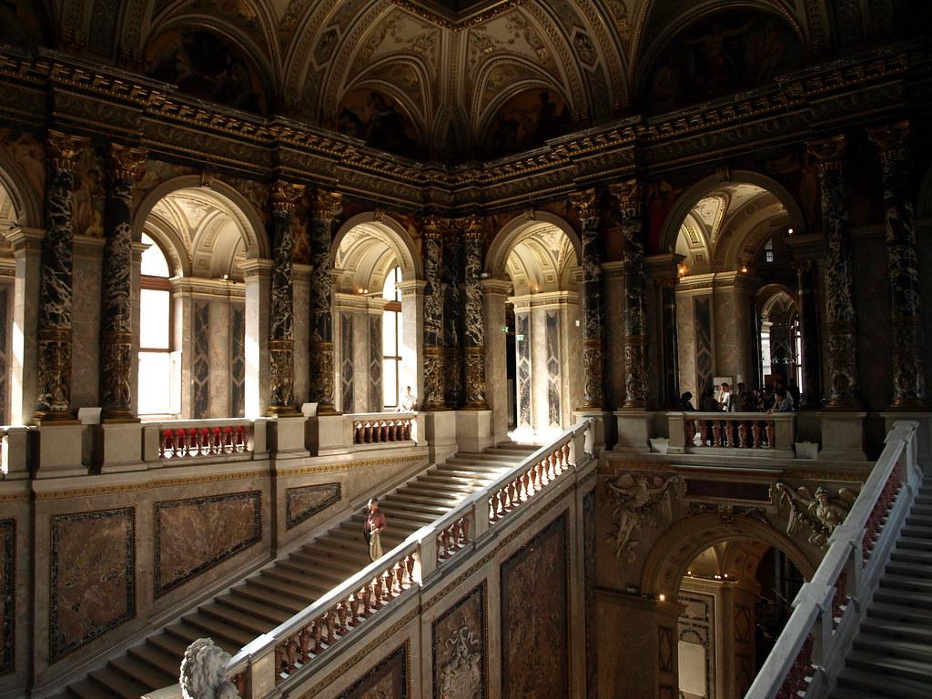 Vienna museum interior
