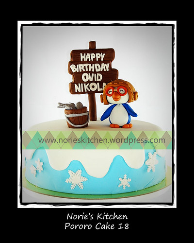 Norie's Kitchen - Pororo Cake 18 by Norie's Kitchen