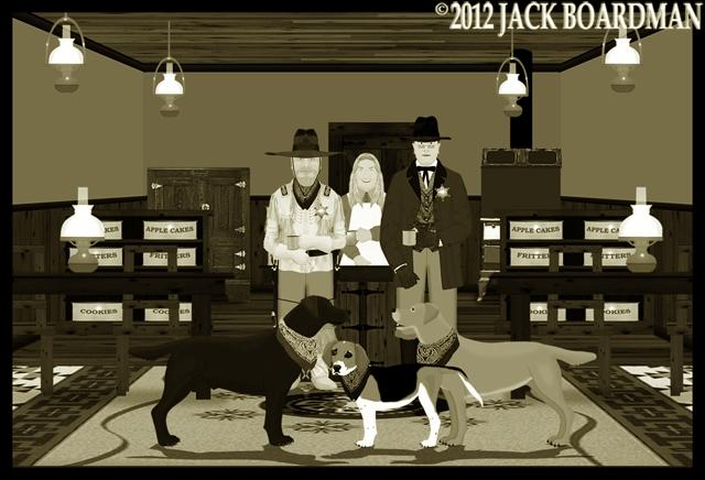 Boomer Erik & Daisy at Seven Tables ©2012 Jack Boardman