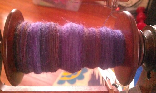 day 10 spinning by Miss Knotty
