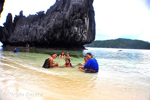 Island Hopping, Matinloc Island, El Nido, Palawan