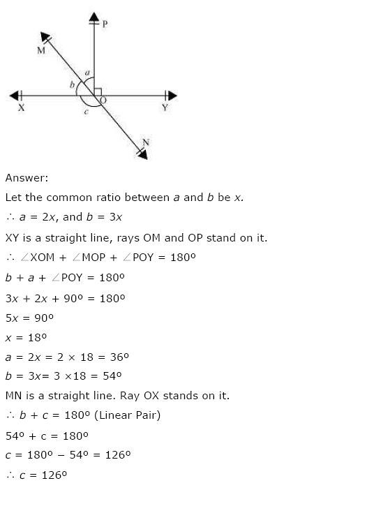 NCERT Solutions For Class 9th Maths Solutions Chapter 6 Lines and Angles PDF Download 2018-19