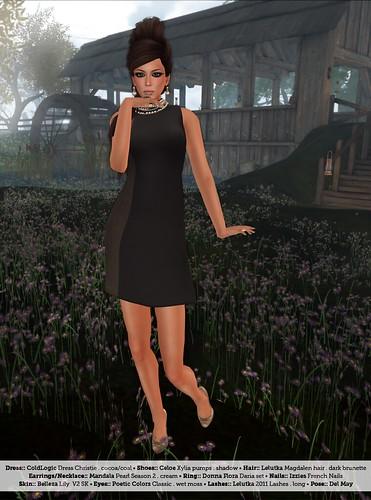 ColdLogic Shift Dress