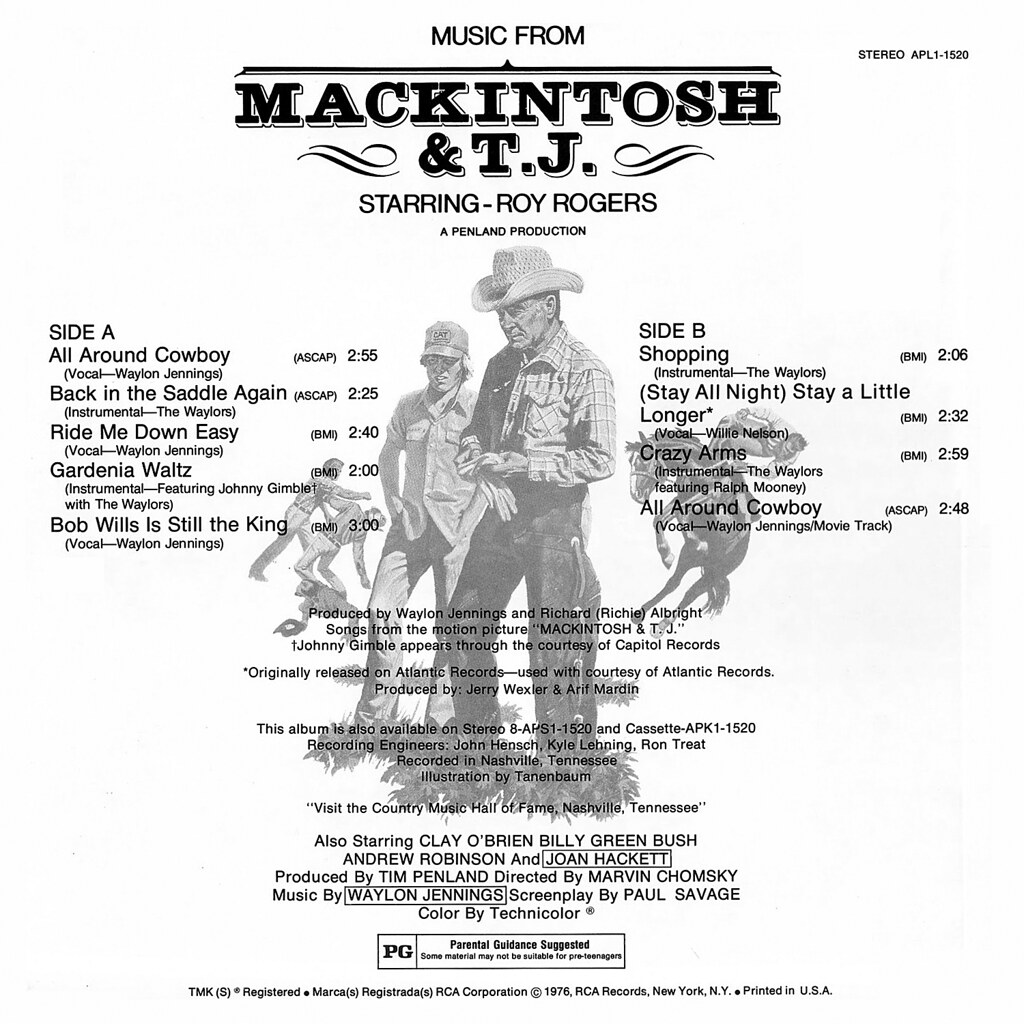 Waylon Jennings - Mackintosh & T.J.