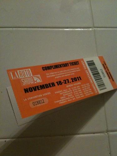WHOA LA Auto Show Tickets For FREE Jeffandjacksbitch - Auto show tickets