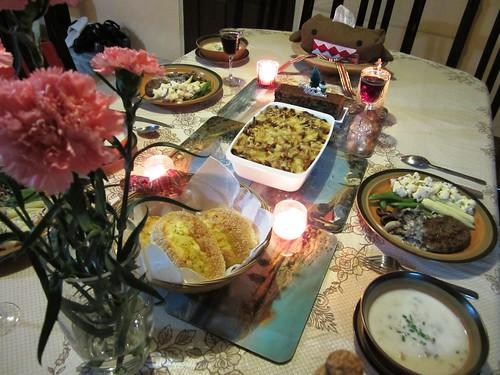 Christmas eve dinner