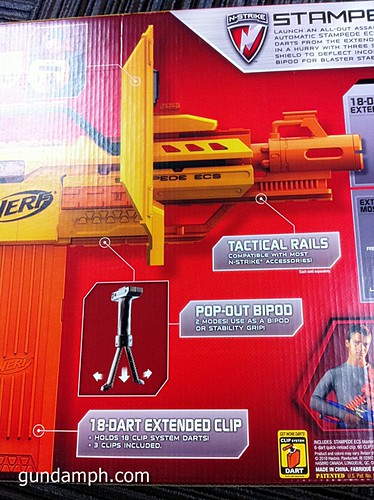 NERF Sale 50% Off Stampede Raider Recon Unboxing Review (14)