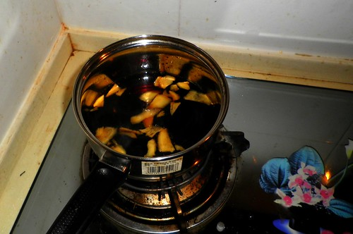 Boiled coke and ginger!