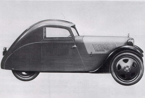 1934 Framo Stromer, DKW powered 3-wheeler