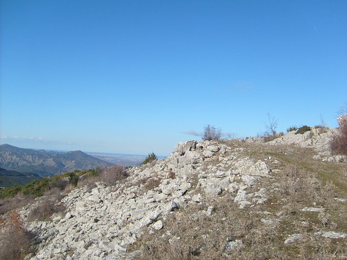 Ruins of Illyrian castle of Dorez