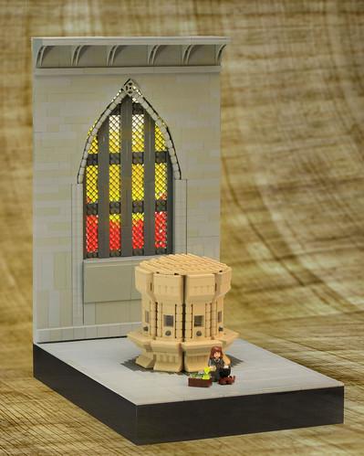 LEGO Harry Potter Moaning Myrtle's bathroom
