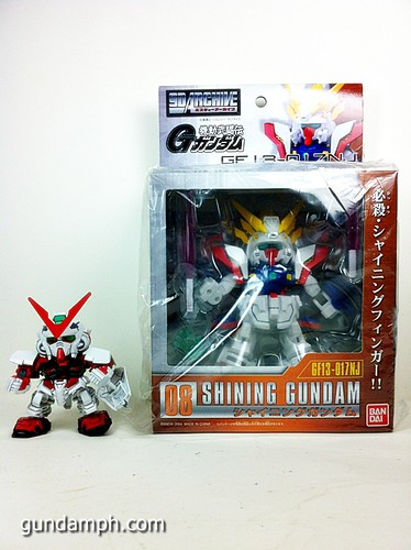SD Archive Shining Gundam Unboxing Review (9)