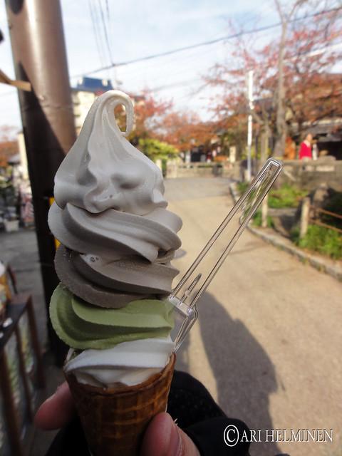 Icecream mix , 四種のミックスソフト