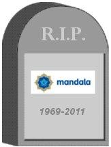 Mandala Tombstone