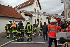 Dachstuhlbrand Hattersheim-Okriftel 03.01.12
