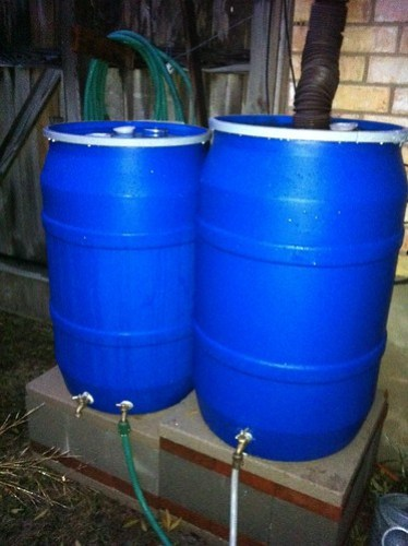 Rainbarrel Pair
