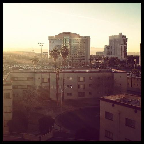 Vegas sunrise #CES