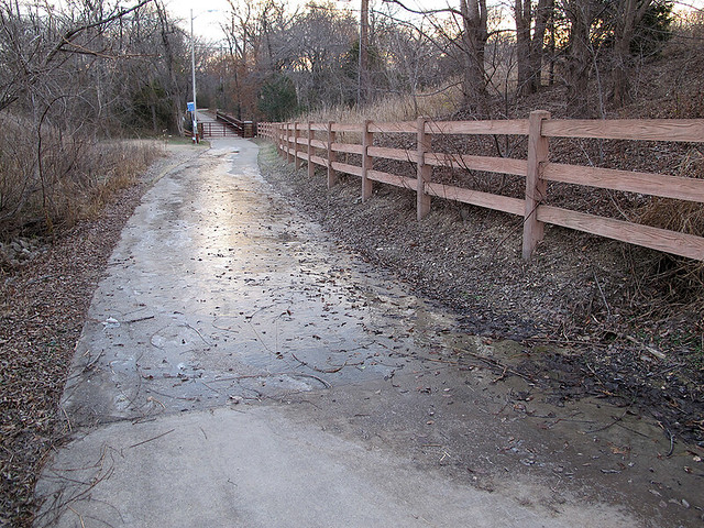 Owens Trail Ice