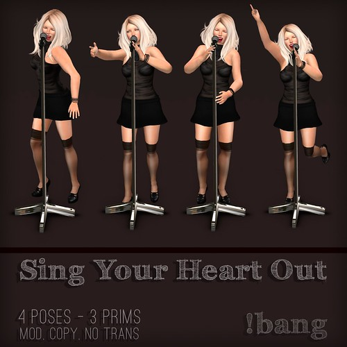 !bang - Sing Your Heart Out