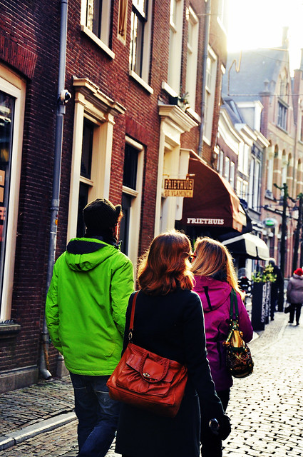 walking the streets of Haarlem