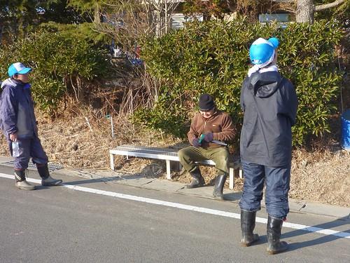 原町区泉, 南相馬で震災ボランティア Volunteer at Minamisoma city, Fukushima pref. Seriously affected by the Tsunami of Japan Earthquake and Fukushima Daiichi nuclear plant accident