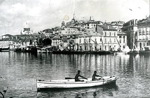 The city of Šibenik back in early 1900s