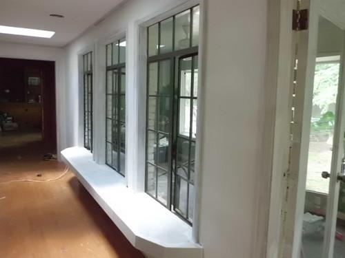 Living Room Windows durring