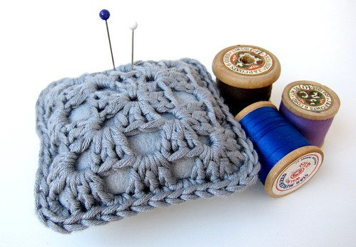 Sophisticated granny pincushion