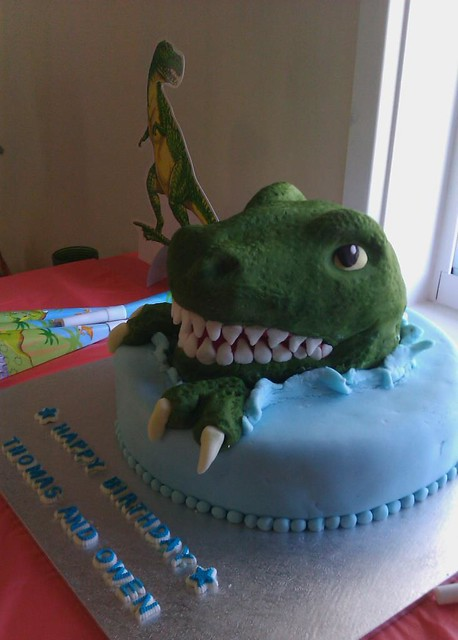 Trex cake  Flickr  Photo Sharing