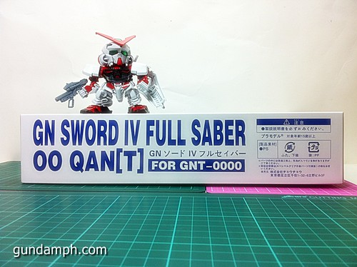 GN Sword 4 IV Full Saber QuanT 1-100 BTF Coversion Kit Unboxing (3)