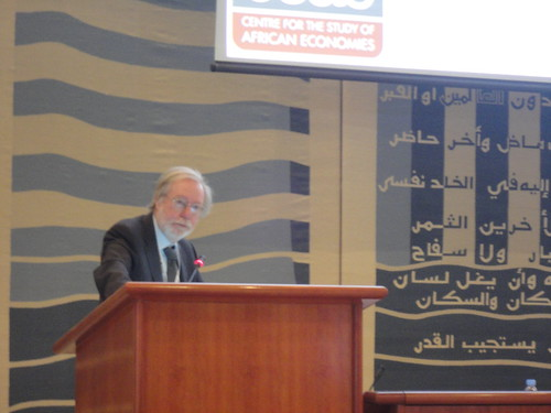 Paul Collier (Centre for the Study of African Economies - University of Oxford)