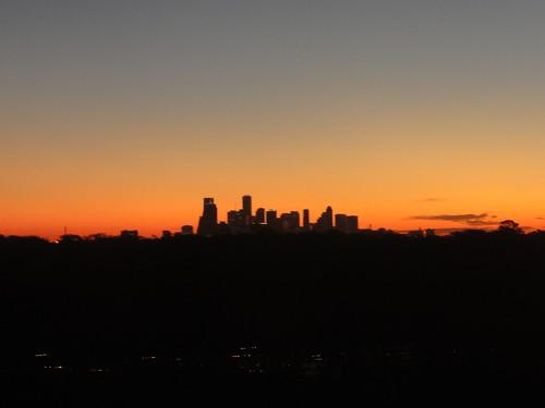 Sunrise over Houston 1