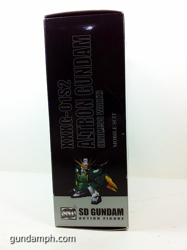 SD Gundam Online Capsule Fighter ALTRON Toy Figure Unboxing Review (4)