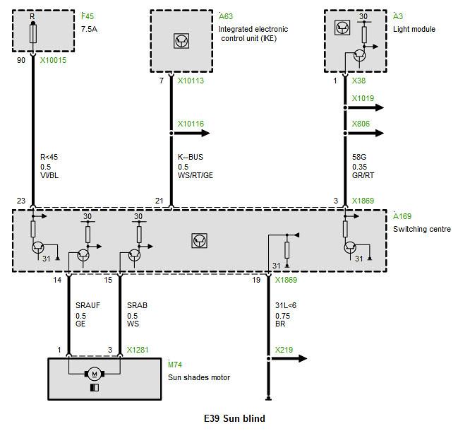 BMW 550i Wiring Diagram BMW Wiring Diagram And Schematics