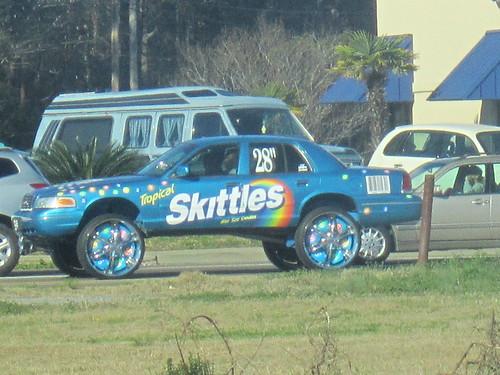 Skittles Car