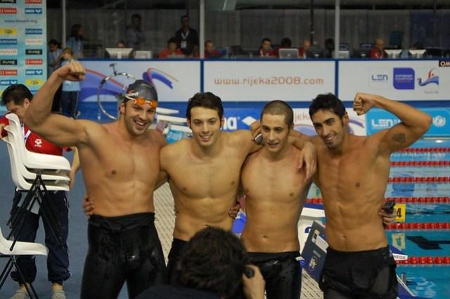 Italy's record setting Rijeka 2008 relay