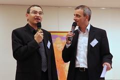 Philippe Msika, Labo Expanscience & Stéphane Bergougnioux, DFI TV