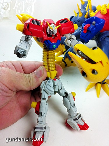 MSIA Devil Gundam First Form Unboxing Review Huge (55)