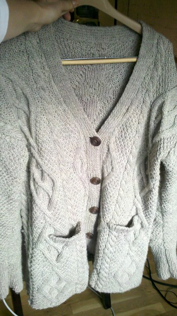Moss & Cable Sweater