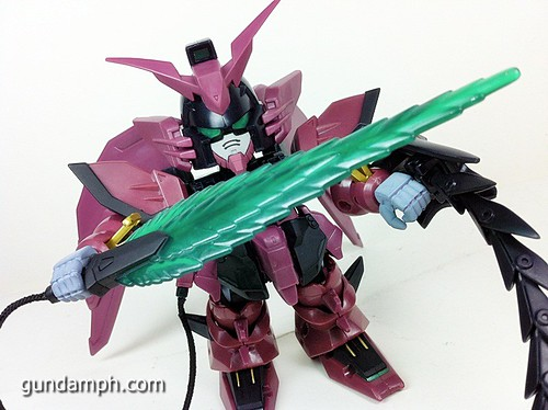 SD Gundam Online Capsule Fighter EPYON Toy Figure Unboxing Review (57)